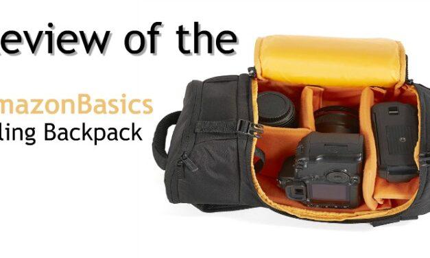 Review AmazonBasics Sling Backpack for SLR Cameras
