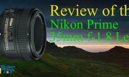 Review Nikon Prime 35 Lens AF-S DX f/1.8G